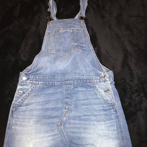 American Eagle Outfitters Overall Jean Dress